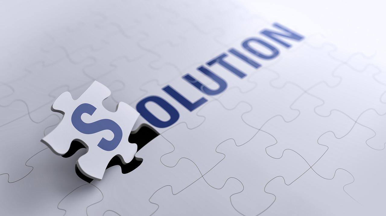 Solution puzzle piece